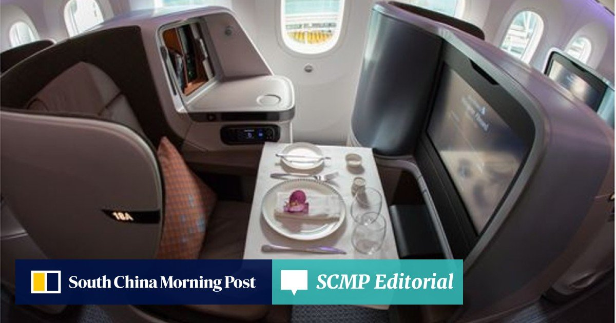Singapore Airlines unveils new cabin interior for Boeing 787-10