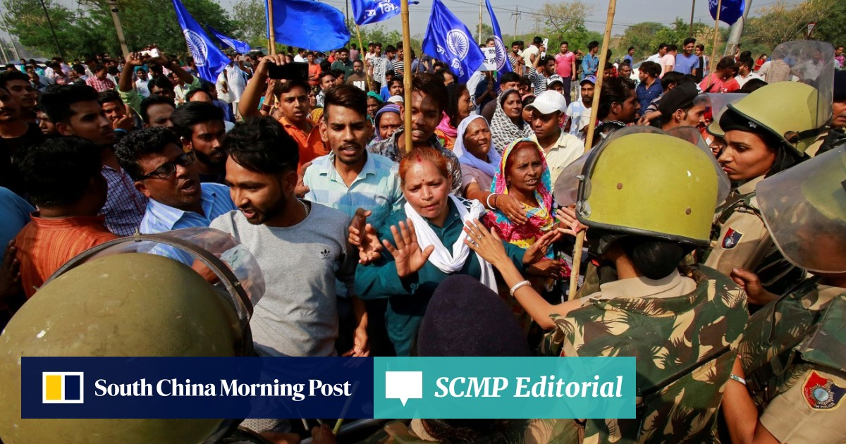 Seven killed as India's lowest caste Dalits lead street protests