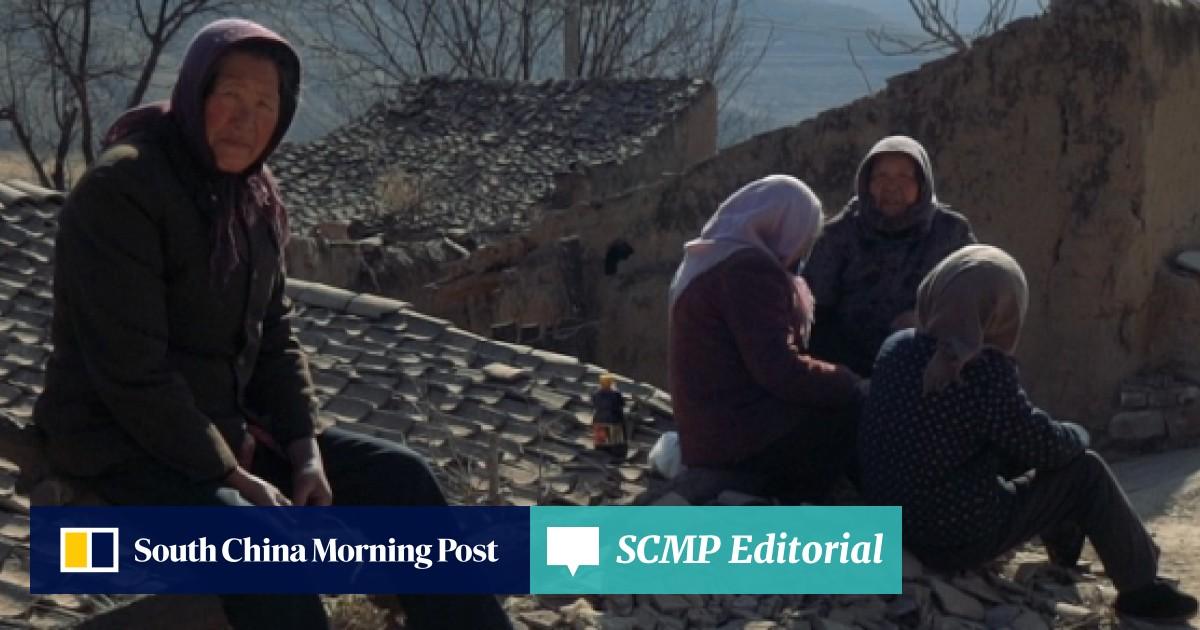 Rural exodus leaves a shrinking Chinese village full of