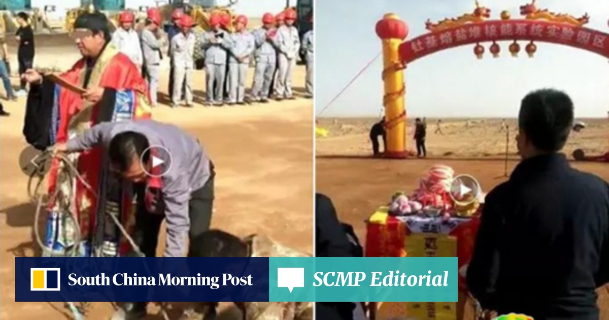 Two Chinese science institute employees sacked over Taoist ritual at