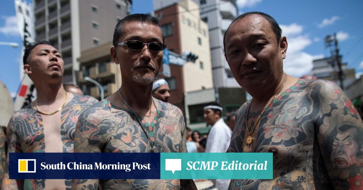 Japan gives yakuza criminal gangs the finger   South China Morning Post