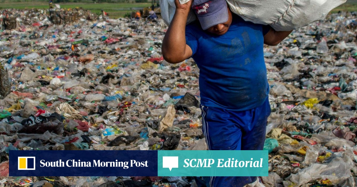 A tsunami of plastic waste is about to be unleashed on the world