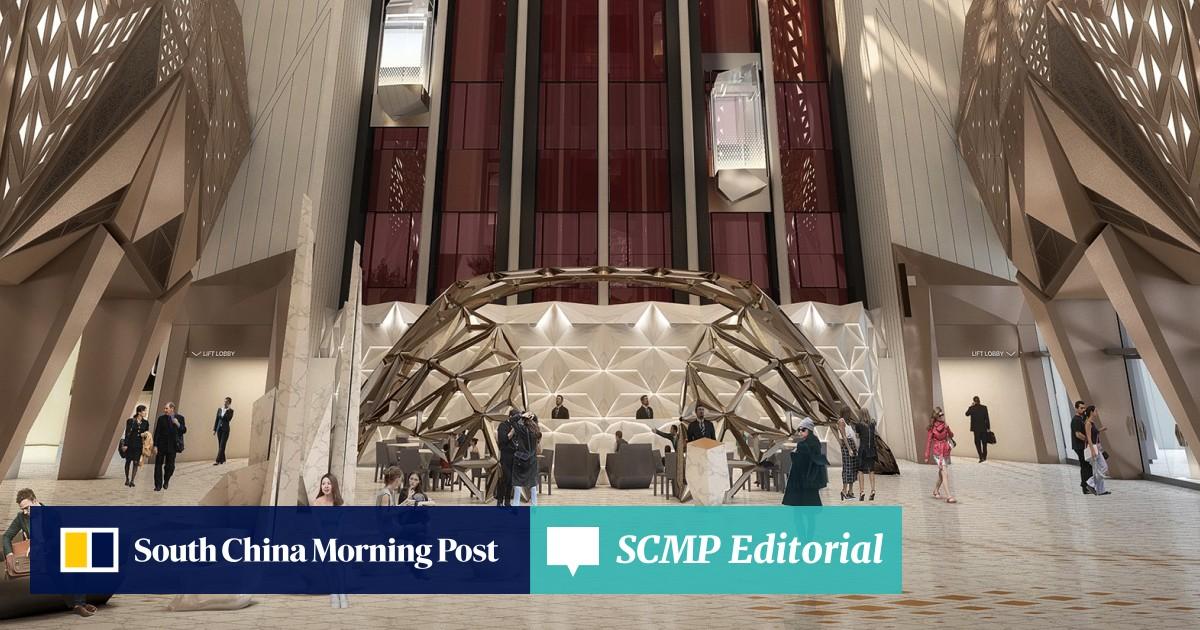 Inside Macau's new Zaha Hadid-designed Morpheus hotel, much