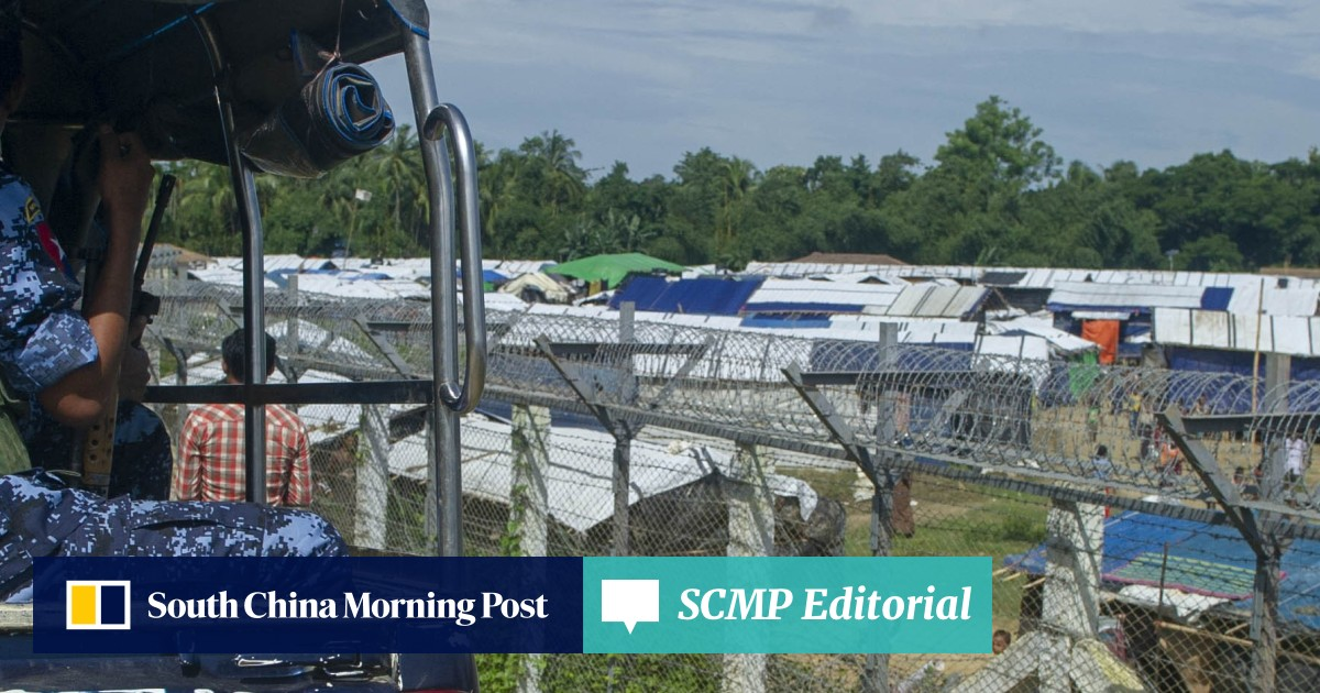 Myanmar transit camps sit empty as Rohingya remain too