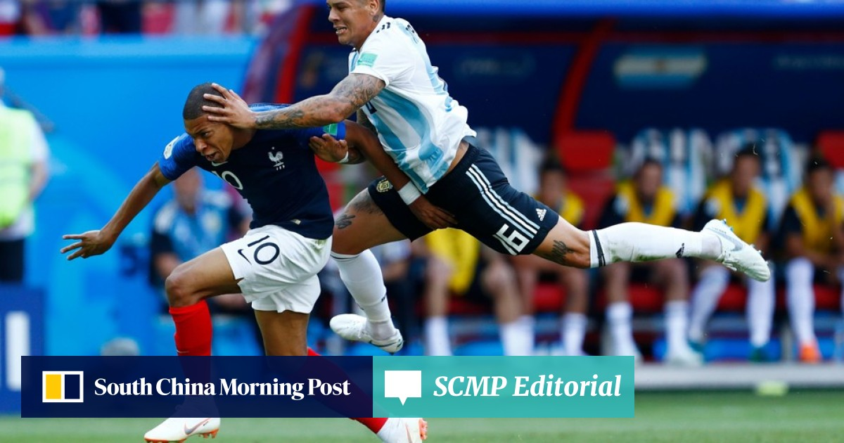 a45516bb Meet Kylian Mbappé, the boy from the burbs who made soccer history for Les  Bleus | South China Morning Post