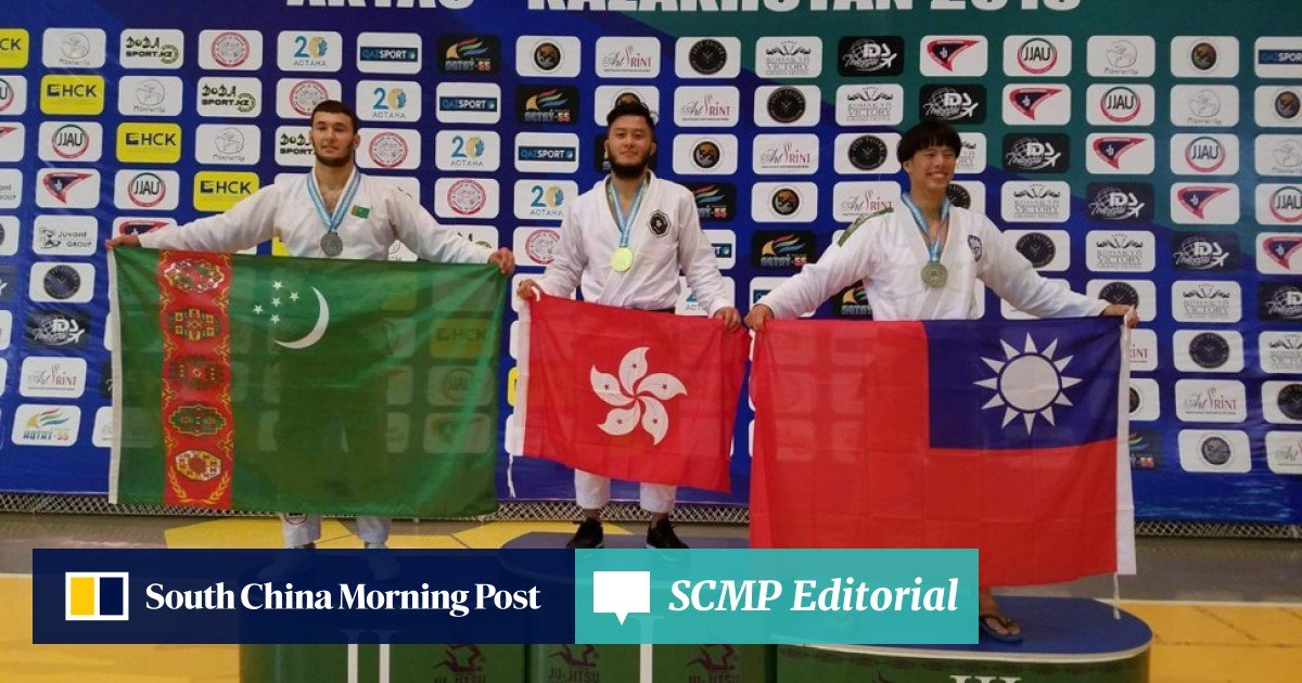 Hong Kong jiu-jitsu black belt Viking Wong urges National Olympic