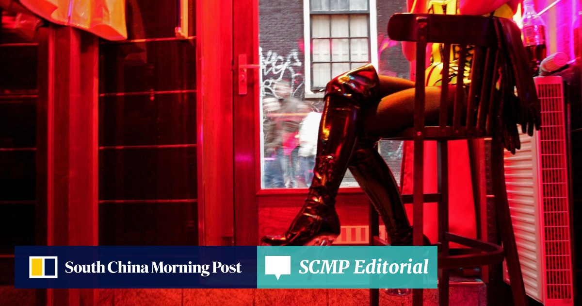 Amsterdam's red-light district without a condom? Not for a