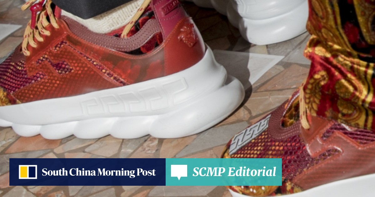 198fc58ed 10 'ugly' dad sneaker styles from Calvin Klein to Valentino for you to  steal the show like Bella Hadid did | South China Morning Post