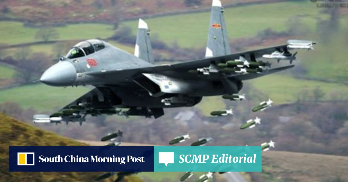 China's air force quietly adds new J-16 fighter jets to 'push the
