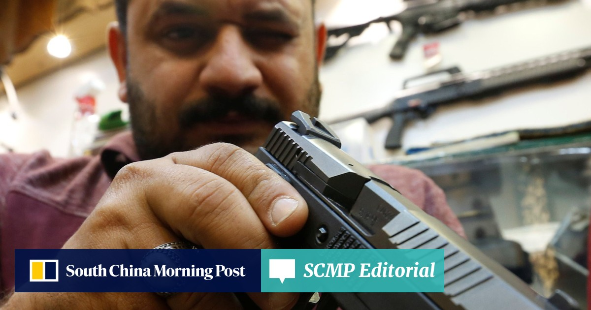 Business is booming at Baghdad gun shops after arms control rethink