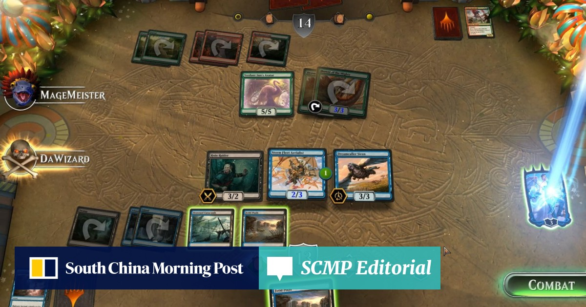 Magic: The Gathering Arena is a much better digital game than