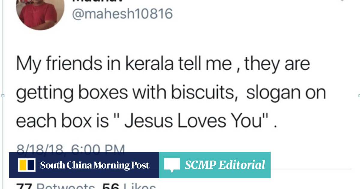 Kerala floods: a tragedy in god's own country, but whose god