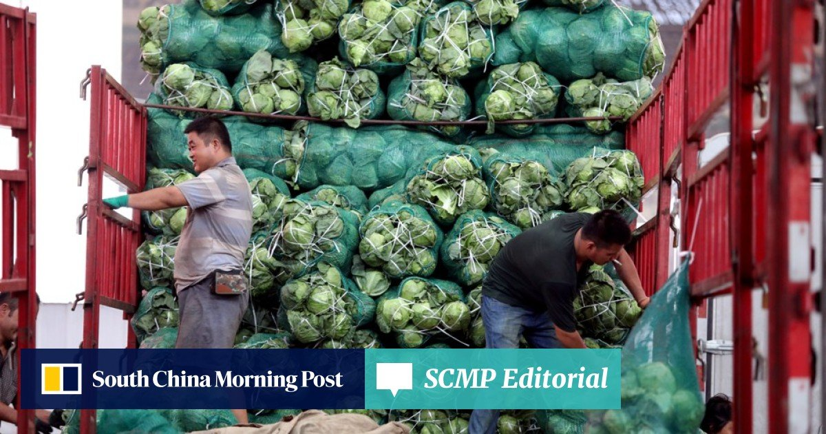 China's inflation hits six-month high, but trade war not to blame