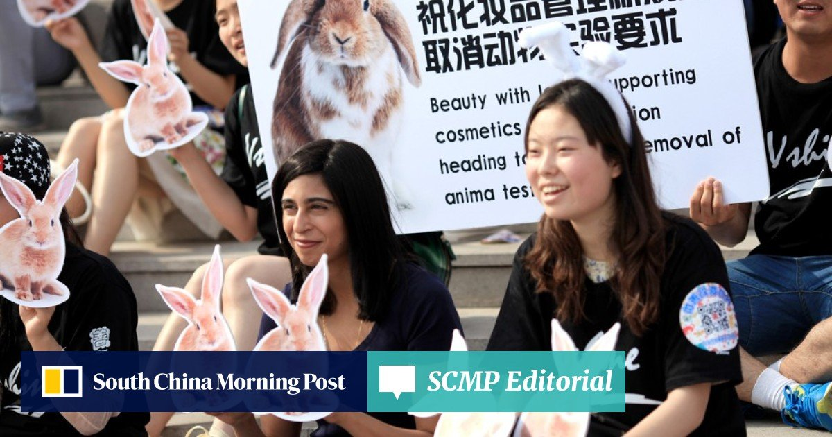 China moves towards ending testing of cosmetics on animals – good