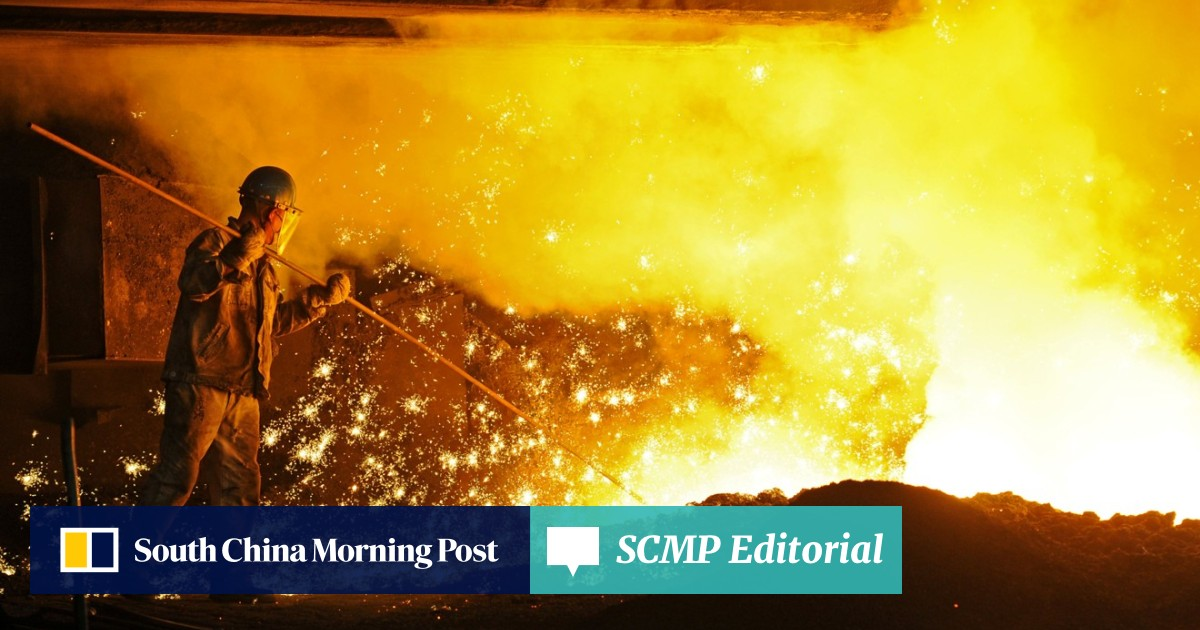 Contradictory views on China's steel output  But only time