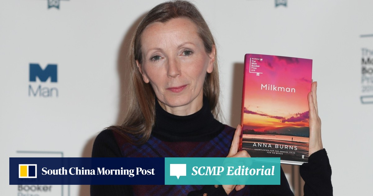 Anna Burns wins Man Booker prize for 'Milkman', a tale of