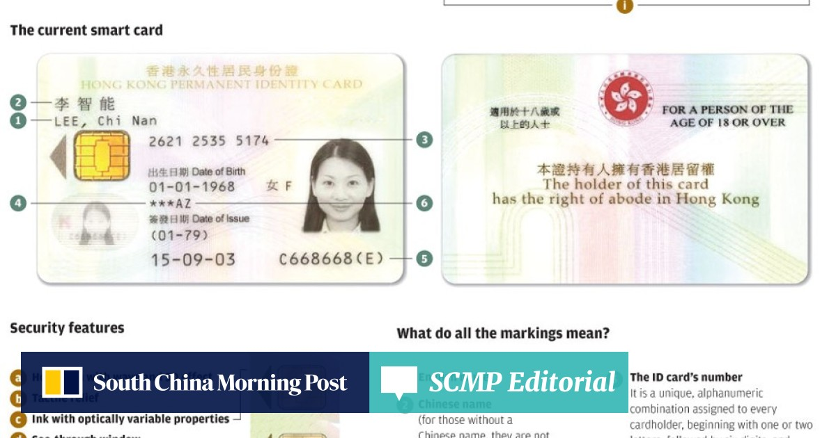 How the humble Hong Kong identity card got smart and became vital