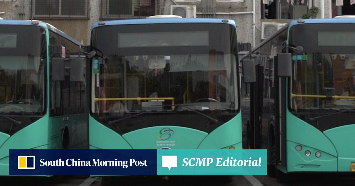 Shenzhen's all-electric bus fleet is a world's first that comes with