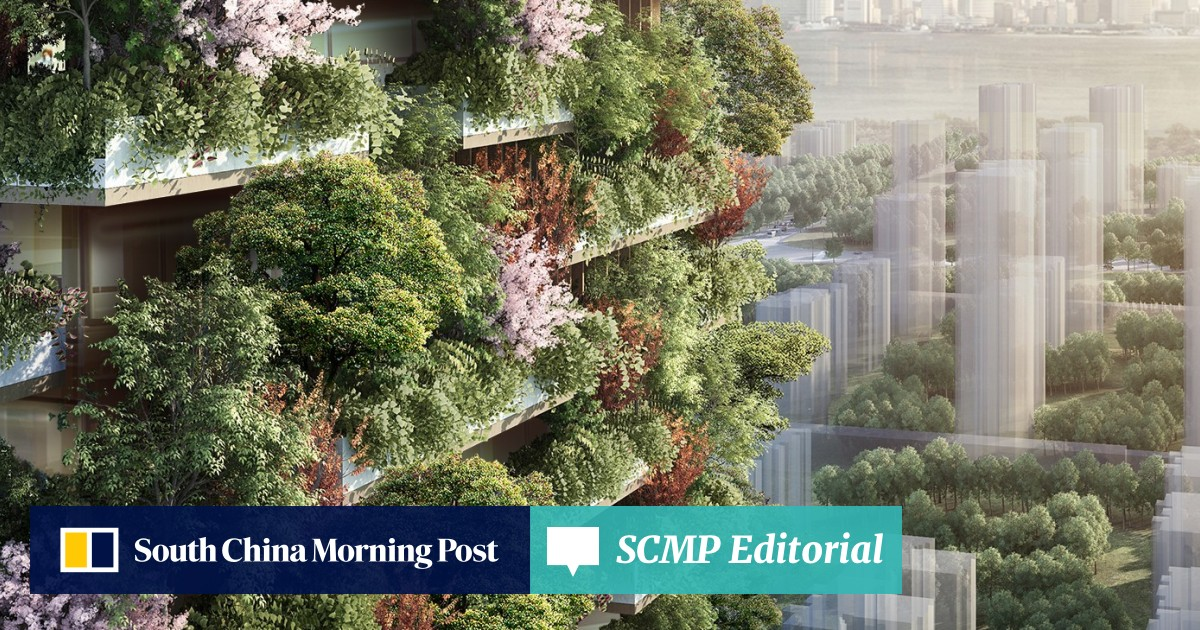 Asia's first vertical forest could reshape how cities fight
