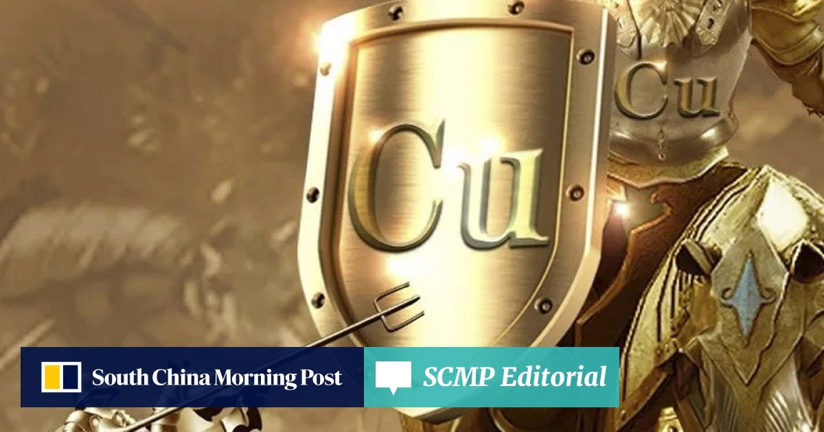 Chinese scientists turn copper into 'gold'   South China Morning Post