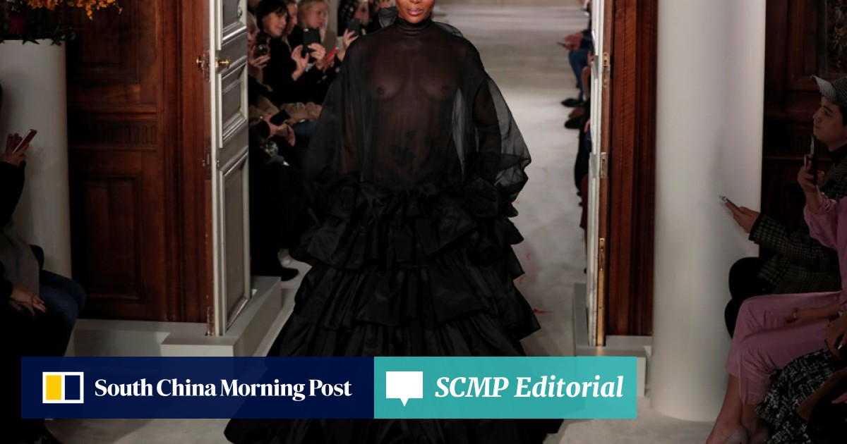 Paris Haute Couture 2019: Valentino's dramatic offering
