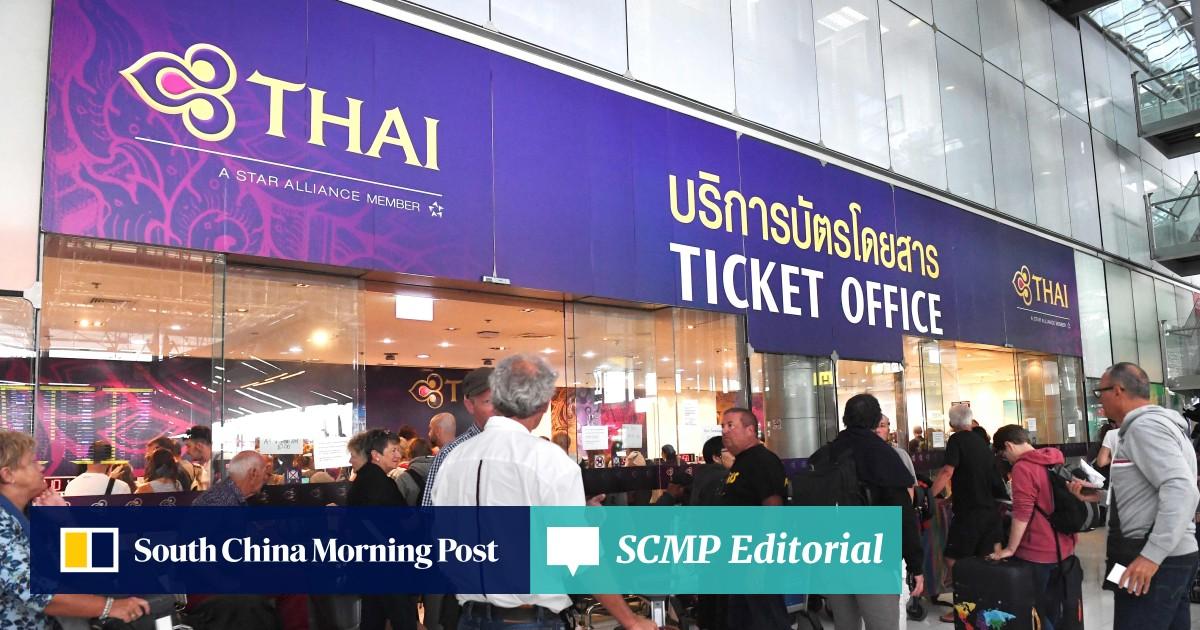 Chaos at Bangkok airport as India-Pakistan conflict leaves
