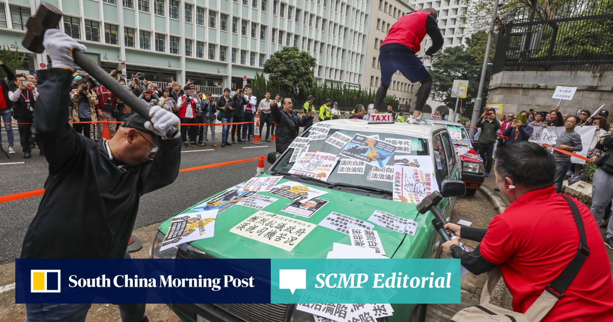 Hong Kong's taxi mafia is real and Uber has no chance against thugs