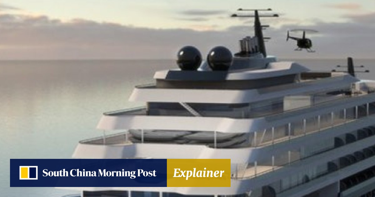 The new Ritz-Carlton luxury cruise ships are designed for