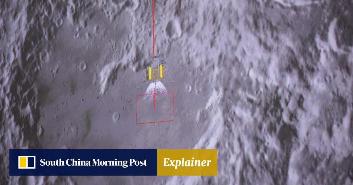 China's Chang'e 4 lunar probe sends first photo of far side