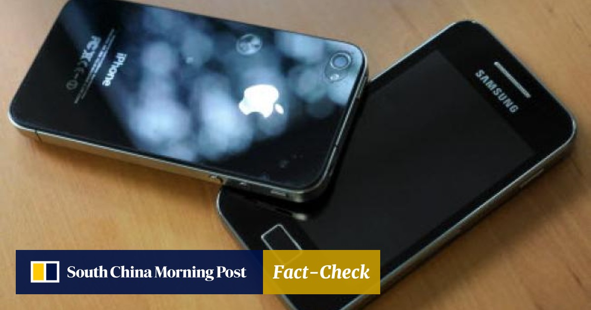 65ea7b9beb Samsung Electronics shares tumble as investors weigh up impact of Apple  verdict | South China Morning Post