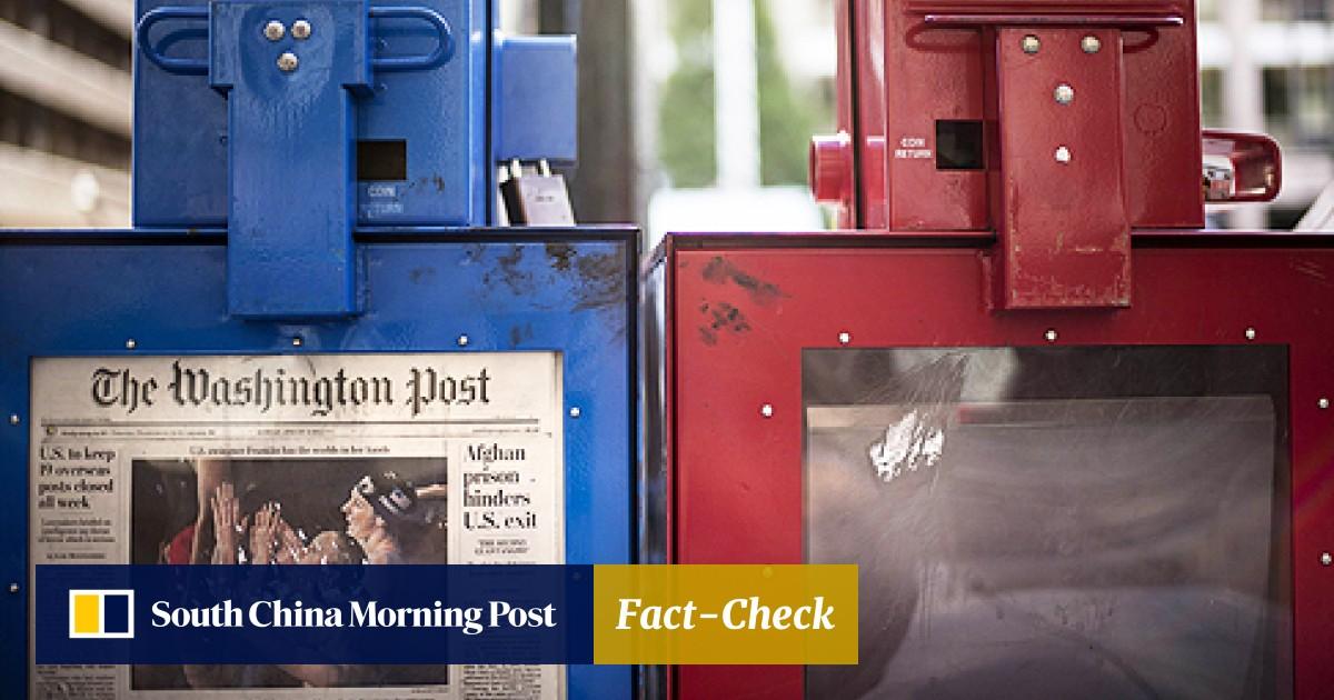 bce6348b Amazon founder Jeff Bezos to buy Washington Post for US$250m | South China  Morning Post