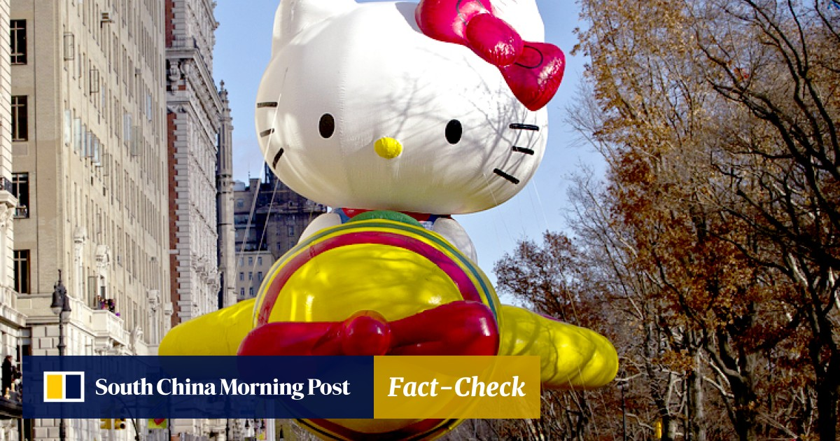bbf459b64 Happy birthday Hello Kitty! Superstar cat celebrates 40th anniversary |  South China Morning Post