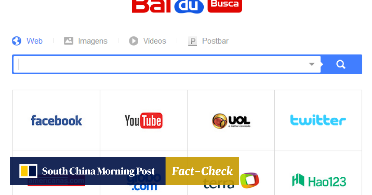 China web giant Baidu launches search engine in Brazil