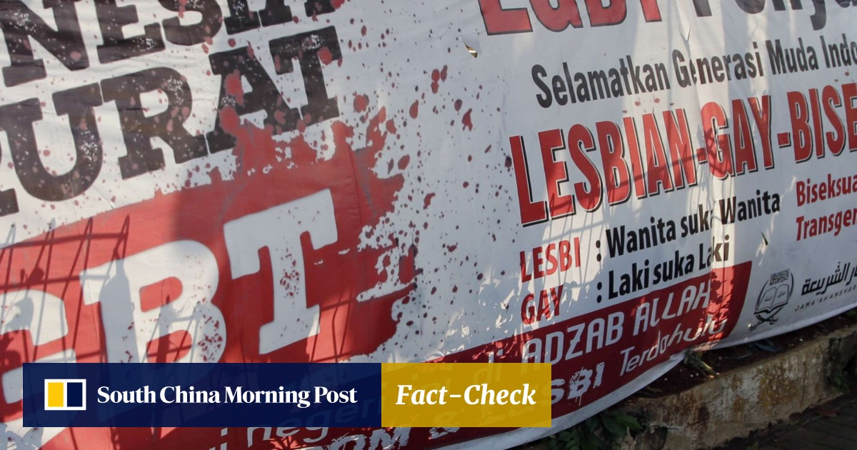 There is 'no room' for the gay community, Indonesia says