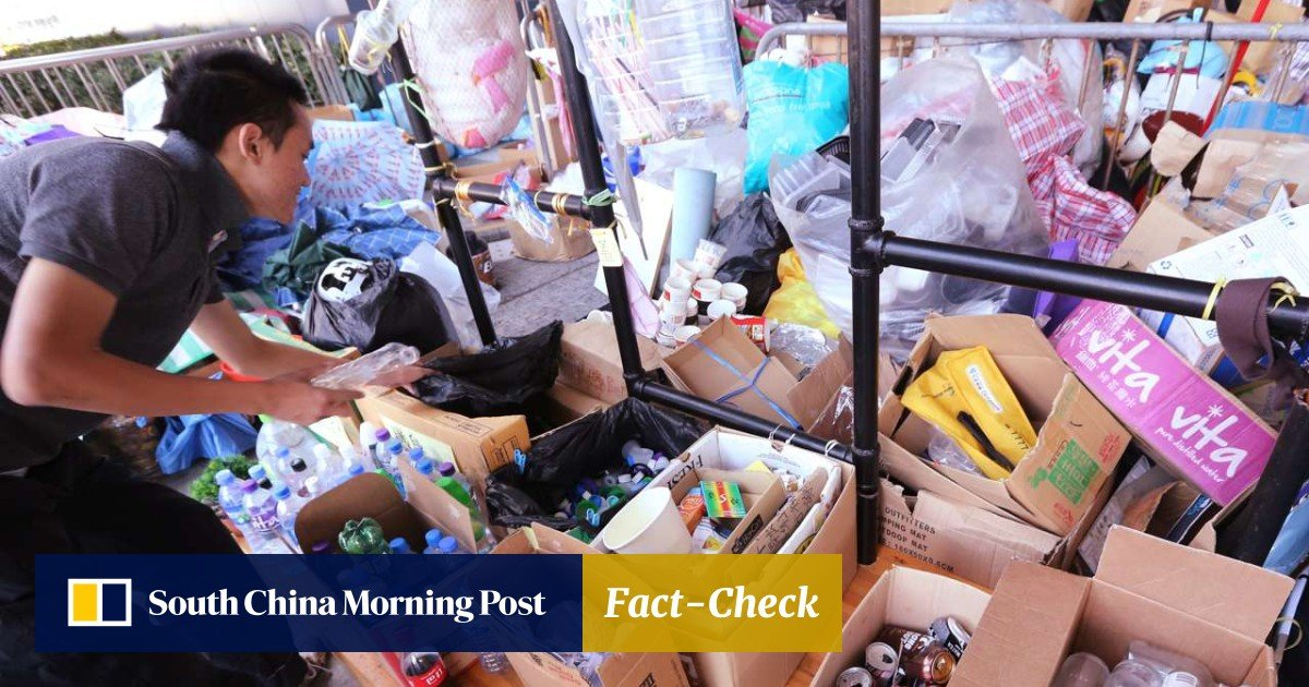 42a8733732 Hong Kong government lashed over 'cumbersome' procedures for seeking  recycling fund money | South China Morning Post