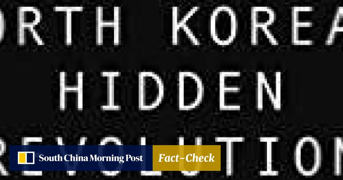 Inside North Korea's secret underground, where information