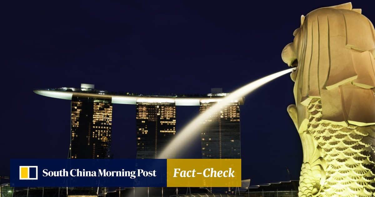 Twilight in the Lion City as social media rends Singapore's