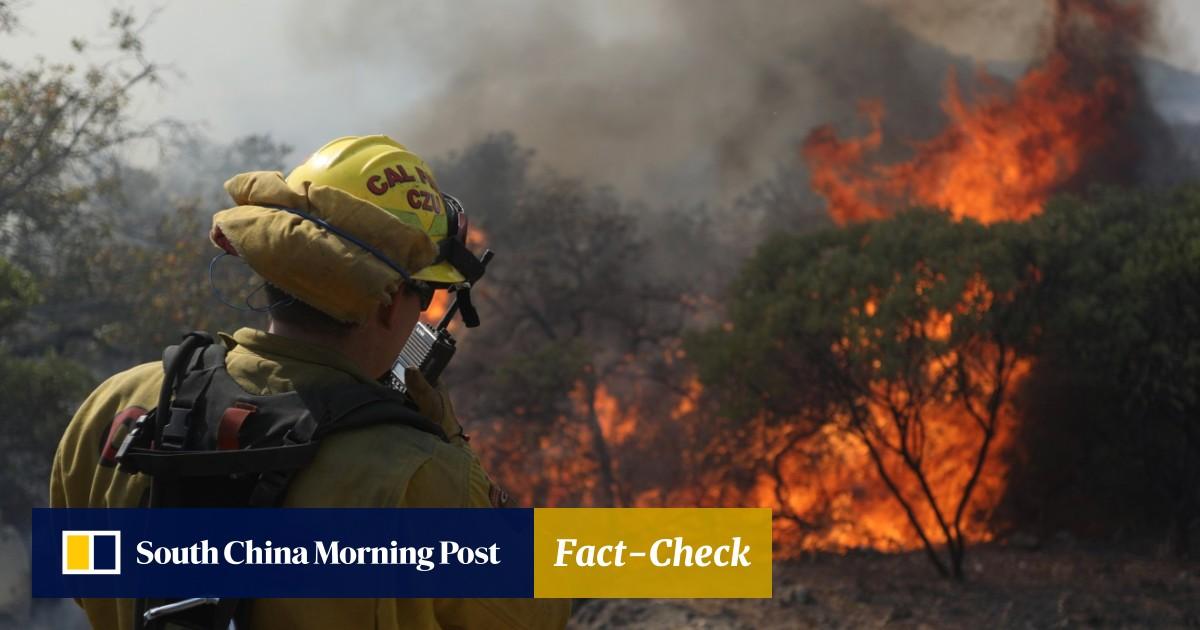 Death toll from California bush fires reaches 40, as blaze