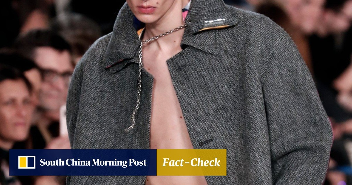 d6a66eb1c Paris Fashion Week: Bruno Sialelli lifts 'fading' Lanvin on his spectacular  debut | South China Morning Post