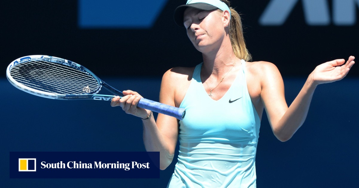 846ba0c644 Heat shuts down matches at Australian Open as Maria Sharapova struggles  through | South China Morning Post