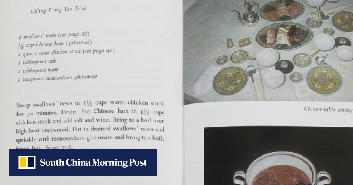 Recipe book: non-fancy dishes for a Chinese emperor   Post Magazine ...