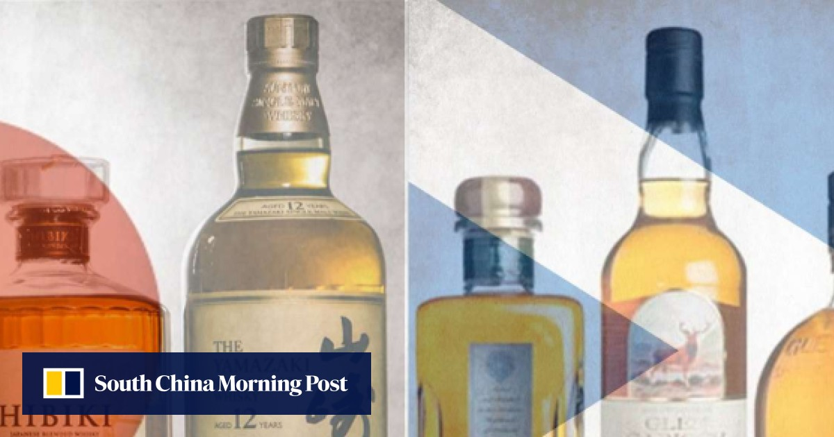 Japanese whisky – with a wider range of aromas and a thinner