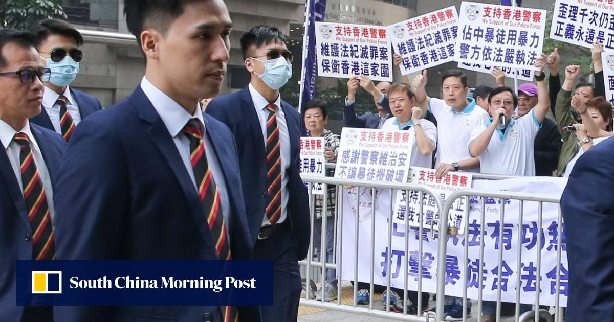 China Condemns Hong Kong Pro-Democracy Activists