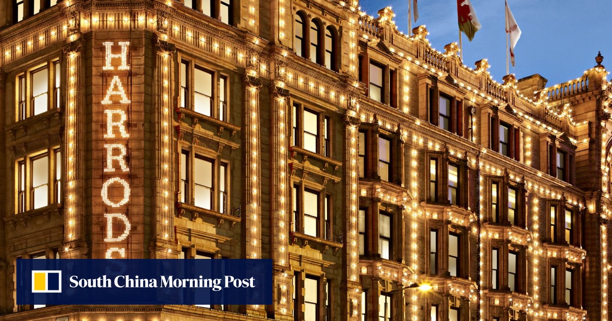 ad1b5ca2b0 Harrods expands its e-commerce options, in effort to lure more Chinese  shoppers | South China Morning Post