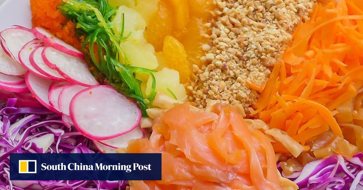 Prosperity toss: where the Chinese New Year dish yu sheng