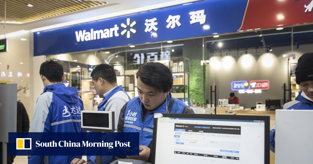 WeChat alliance allows shoppers to skip the queue at Walmart's