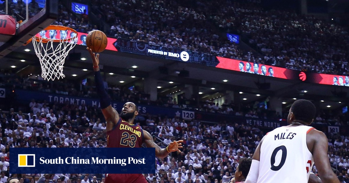 1ef31b304c0 Unstoppable LeBron James on fire as Cleveland Cavaliers top Toronto Raptors  to take firm grip on NBA play-off series