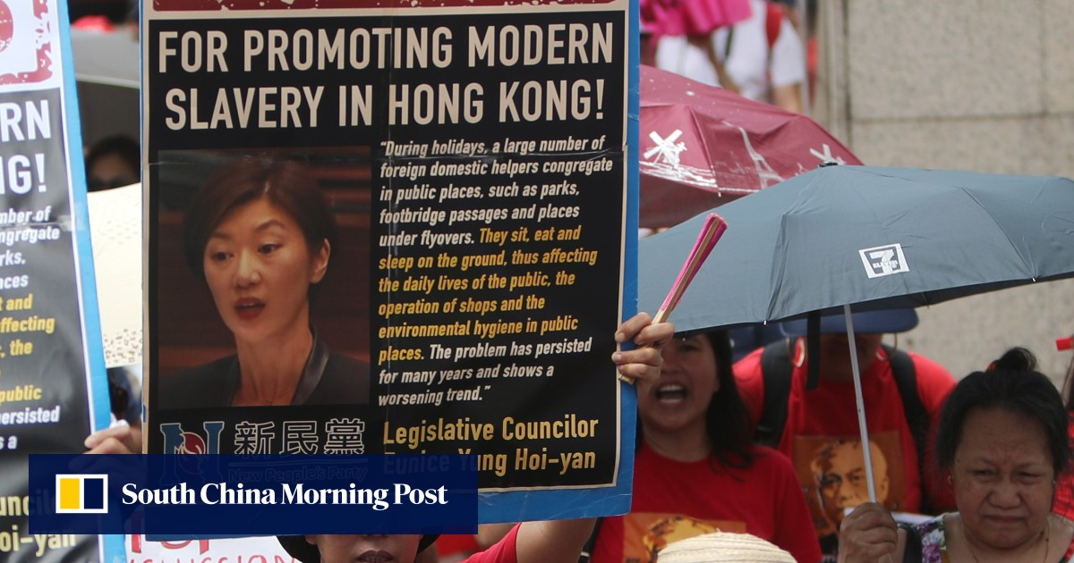 Hong Kong's domestic helpers keep homes and the economy running