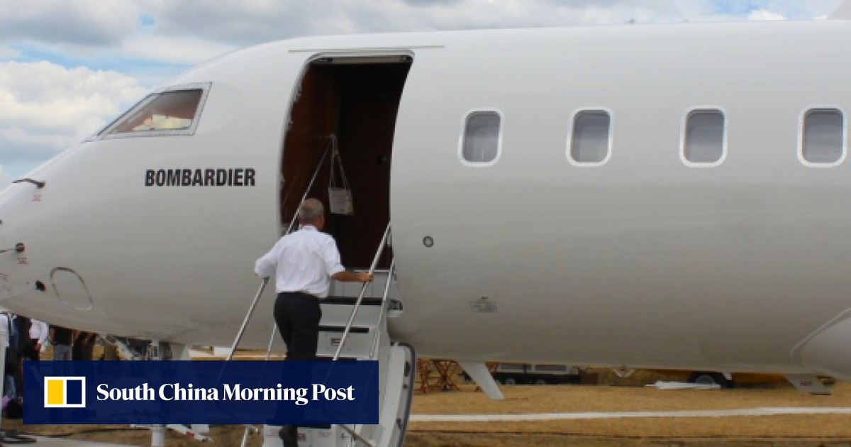The luxury Bombardier private jet that's yours – for US$62 million