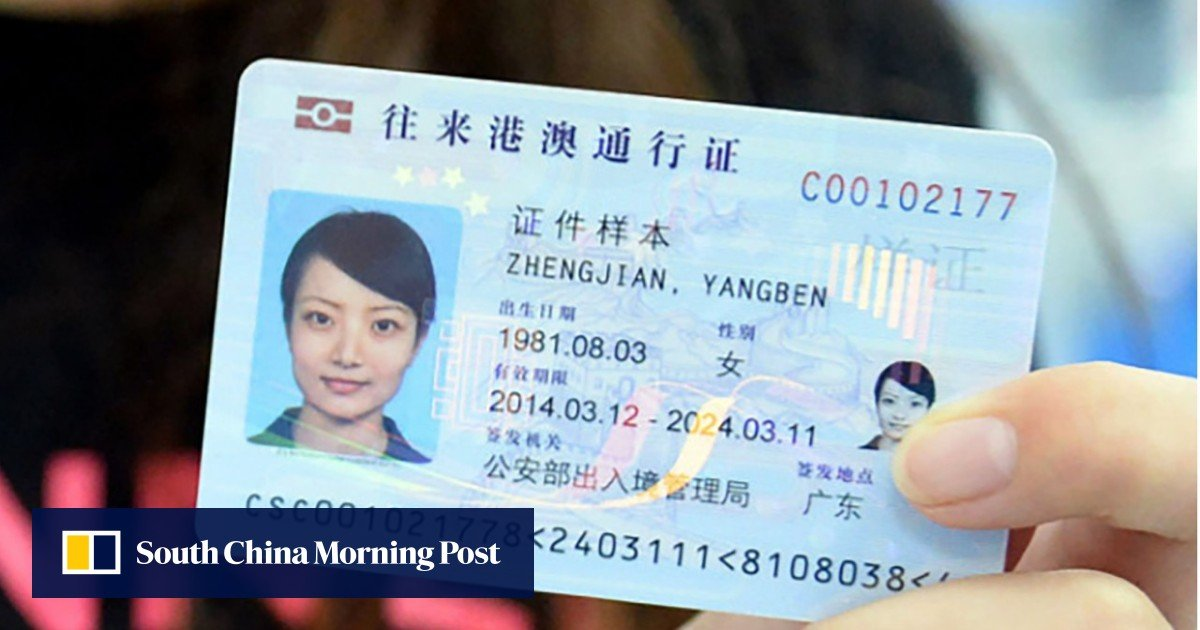 Pose threat to China and mainland ID card will be revoked, papers reveal